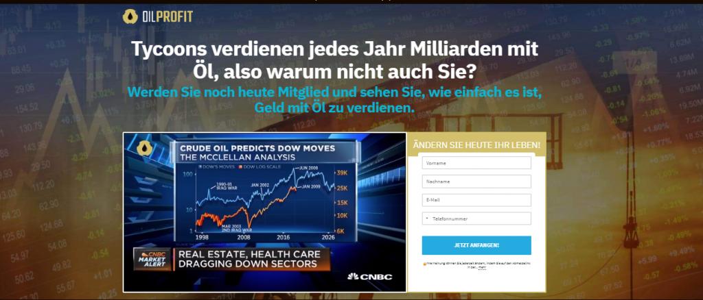 Oil profit Erfahrungen- Germany Trading platform