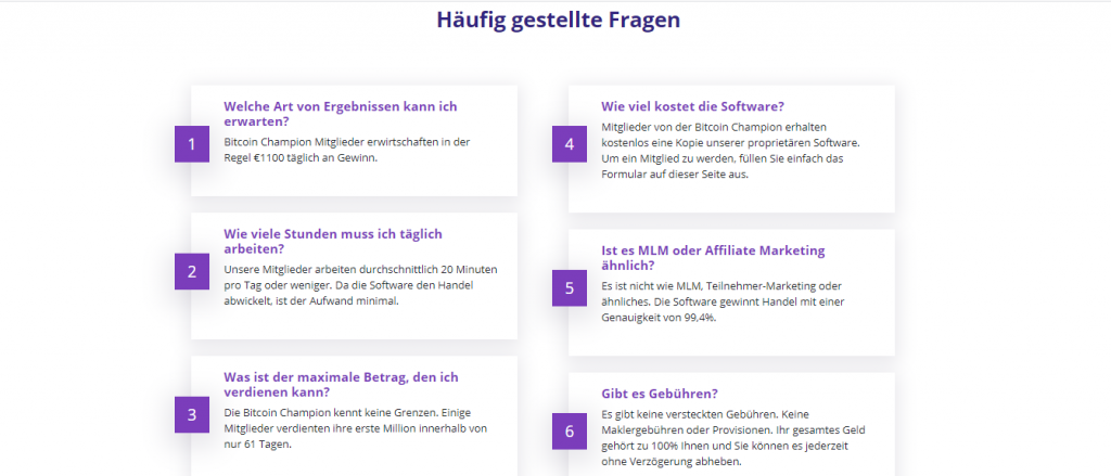 FAQ- German