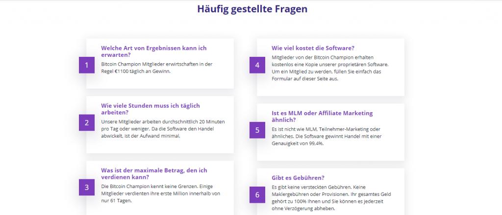 FAQ- German