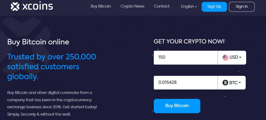 Bitcoin mit Xcoins kaufen