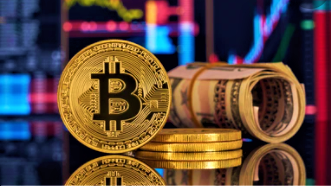 Bitcoin & Dollar image