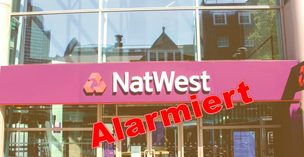 Natwest Bank warnt Investoren vor dem Krypto-Betrug