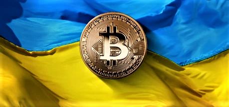 Ukraine crypto image