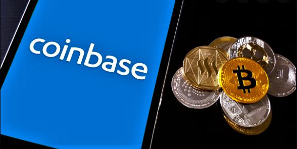 Kryptowährung and coinbase image